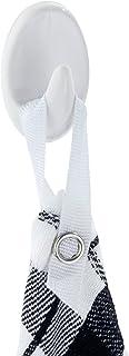 WENKO Liliputhaken wit set van 3 - 3, kunststof (ABS), 2,5 x 4 x 2 cm, wit