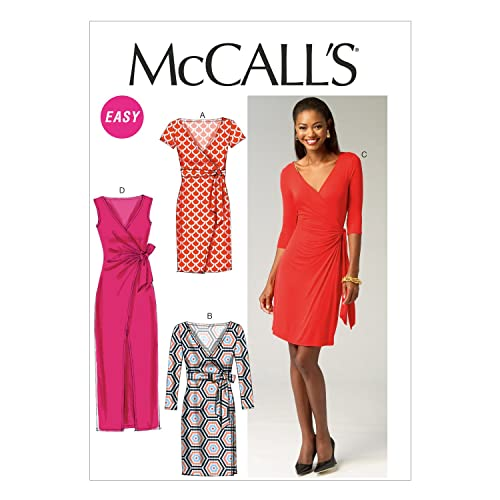 b62ea514ce5eb7 McCall Pattern Company M6884 Misses  Dresses Sewing Template