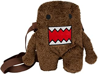 "Domo Kun Plush Backpack Book Bag Travel Bag 13/"" with Domo Cap Hat"