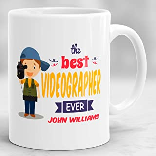 Personalized Videographer Mug, Gift Ideas for Videographers, Gifts for Videographers, Presents for Videographers P244