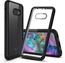 CBUS Heavy-Duty Phone Case with Built-in Screen Protector Cover for LG G8X ThinQ –– Full Body (Black)