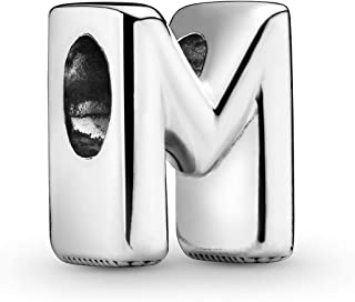 Pandora Jewelry Letter M Sterling Silver Charm