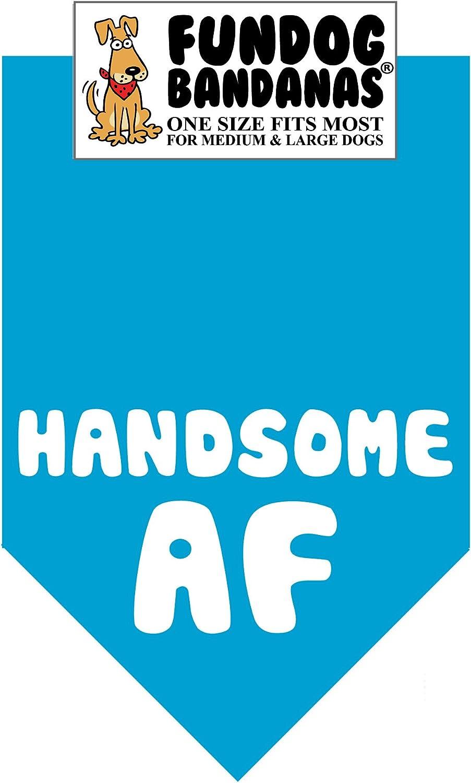 Handsome AF Dog Bandana Super Special Cheap SALE Start SALE held