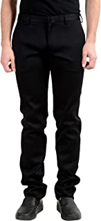 Gianfranco Ferre Men's Black Stretch Casual Pants US 36 IT 52