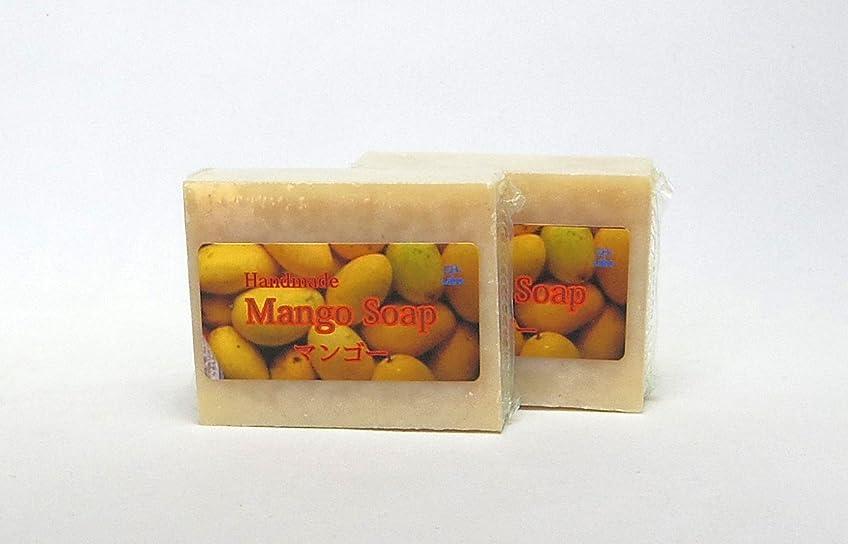 歴史固有のスチュワードGH-Labo マンゴー釜焚手作り純石鹸 2個セット