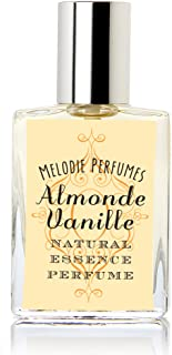 Melodie Perfumes Almond Vanille Natural Perfume for Women. Almond Vanilla Essential Oil Fragrance. Rollerball 15 ml