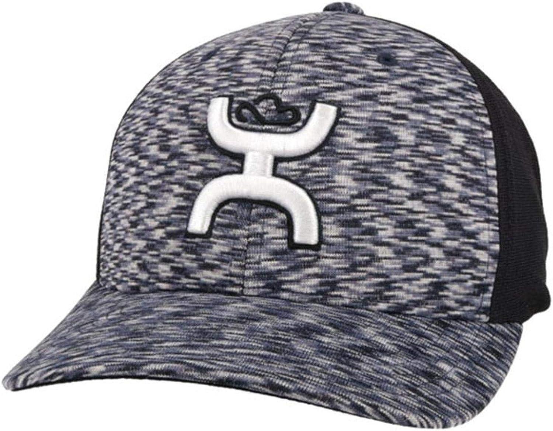 HOOEY Men's Ash Flexfit Fitted Hat