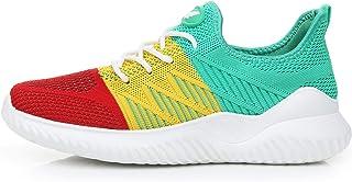 QAUPPE Women's Memory Foam Tennis Shoes Lightweight Comfortable Casual Mesh Slip On Athletic Walking Sneakers US5.5-10