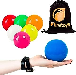 Play SIL-X 100mm Contact Juggling Ball + Firetoys Bag