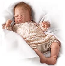 Hush Little Baby Breathes Like a Real Baby - So Truly Real Lifelike, Interactive & Realistic Newborn Baby Doll 18-inches by The Ashton-Drake Galleries