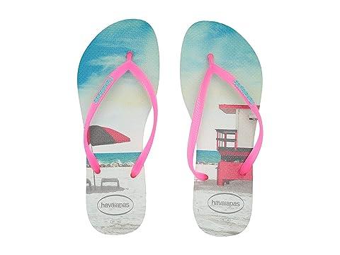467238d6613b0b Havaianas Slim Paisage Flip Flops at Zappos.com