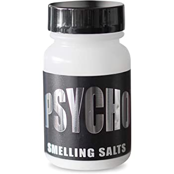 Psycho Smelling Salts Matte Black- Extreme Focus -Aquatic Ammonia-Ammonia Carbonate- Smelling Salts-Ammonia Inhalant-Ammonia Salts-Single Bottle by Newton Health
