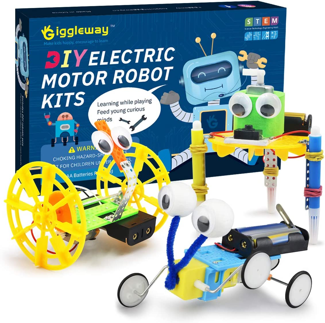 Giggleway Electric Motor Robotic Science Toys DIY Kits Dallas Mall Recommended STEM for