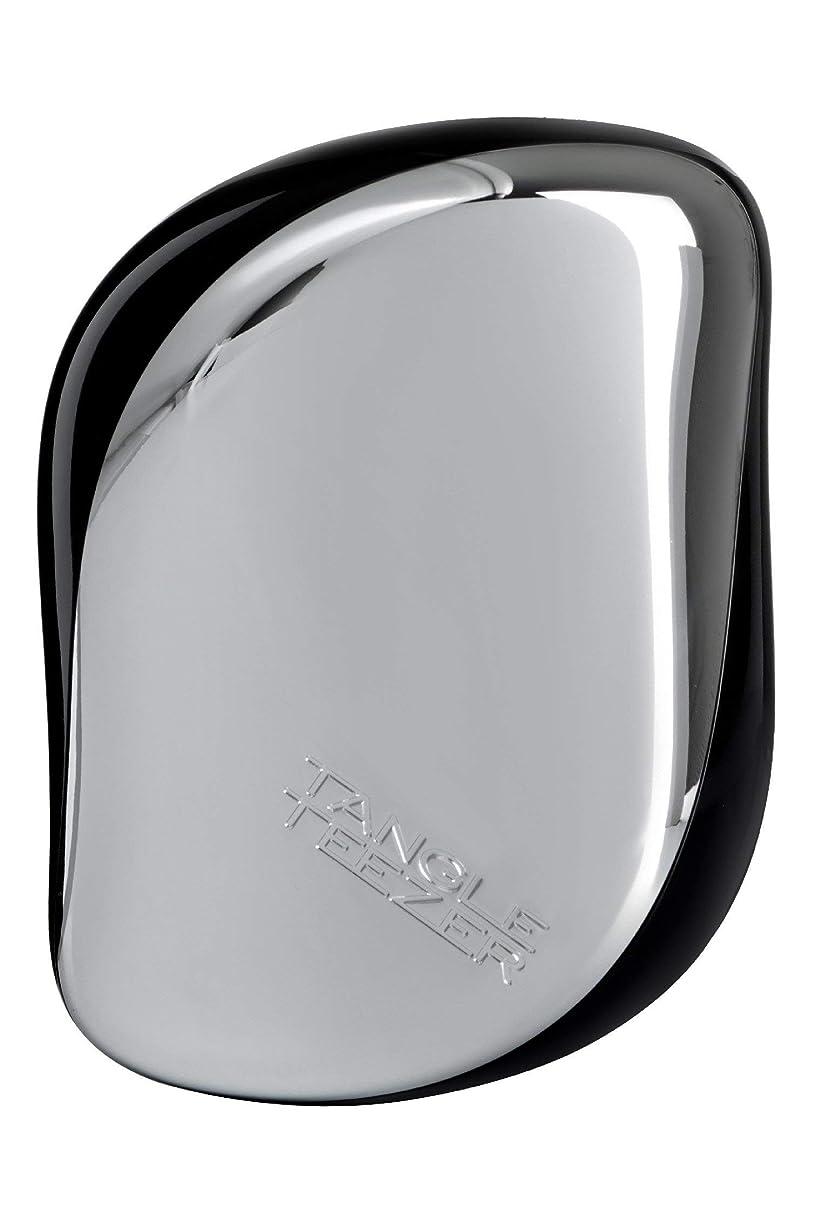 モンク商標ベッドタングル ティーザー コンパクト スタイラー シルバー Tangle Teezer Compact Styler Silver [並行輸入品]