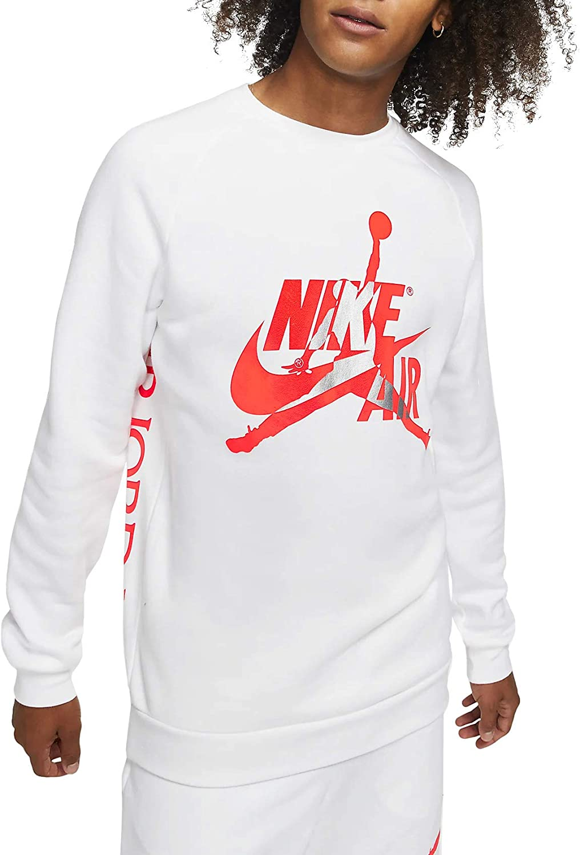 Nike 数量限定 Jordan Men's Jumpman 定価 Sweatshirt Crewneck Classic