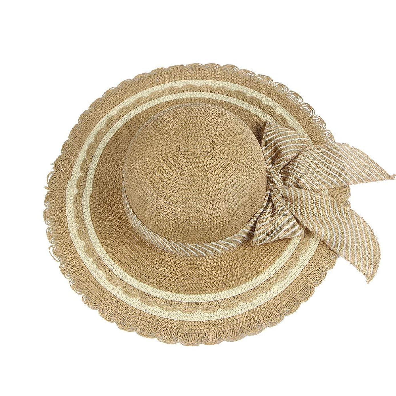 保守的ハイジャックミリメートル帽子 レディース UVカット 帽子 麦わら帽子 UV帽子 紫外線対策 折りたたみ つば広 ワイヤ入り uvカット帽子 春夏 レディース 通気性 ニット帽 マニュアル キャップ レディース 大きいサイズ ROSE ROMAN