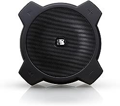 G-Project G-Drop Portable Wireless Bluetooth Speaker Waterproof Rugged Built in Speakerphone mic Works with iPhone iPad Tablet Samsung Nexus HTC Smart Phones Submersible IPX7 Weatherproof (Black)