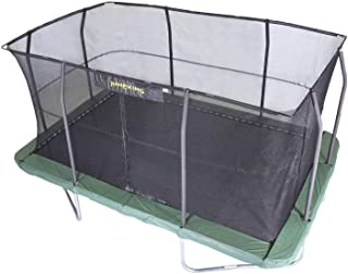 JumpKing 10 x 15-Foot Rectangular Trampoline and Enclosure Combo