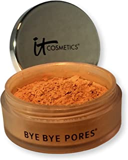 IT COSMETICS BYE BYE PORES® Tinted (MEDIUM) Skin-Blurring Finishing Powder .095 ounce