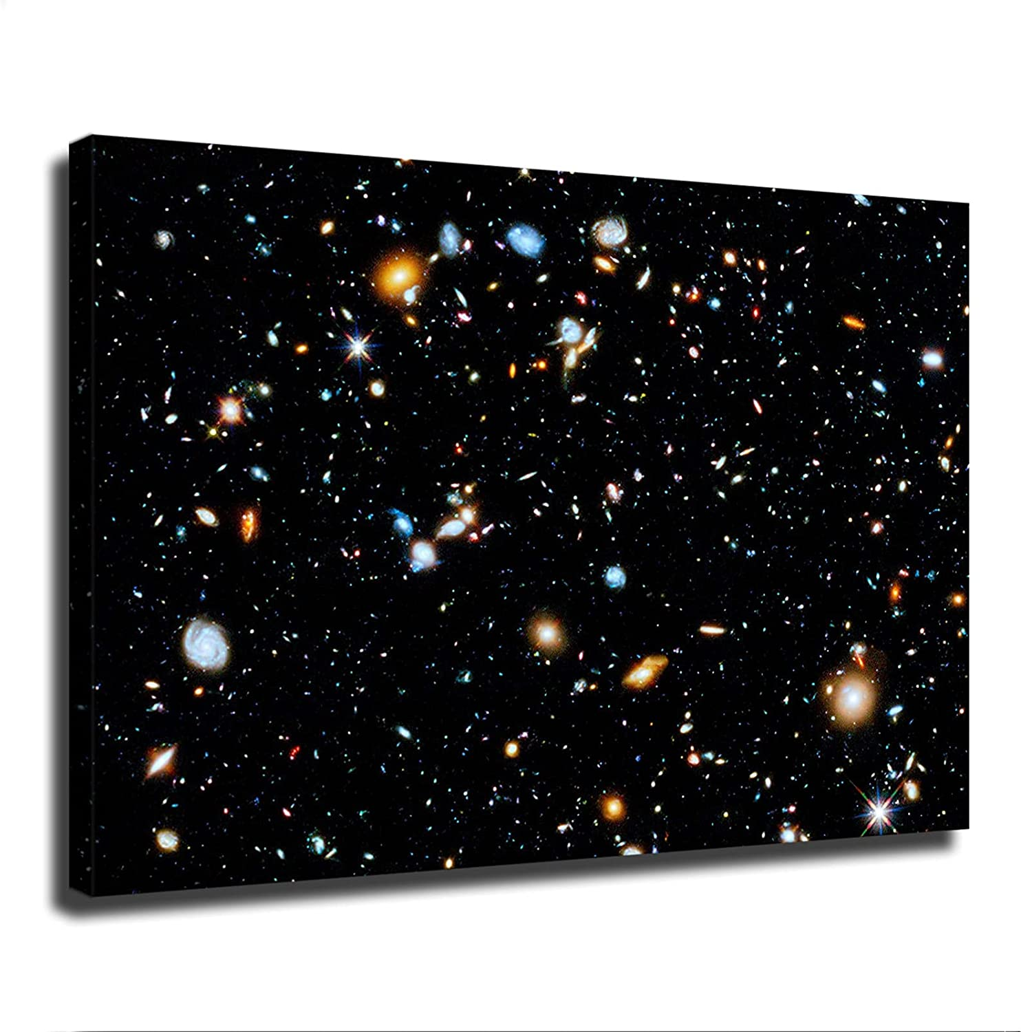 Hubble Ultra Deep Field Poster Limited time for free shipping Canvas Clas Art Print Wall Cheap bargain Modern