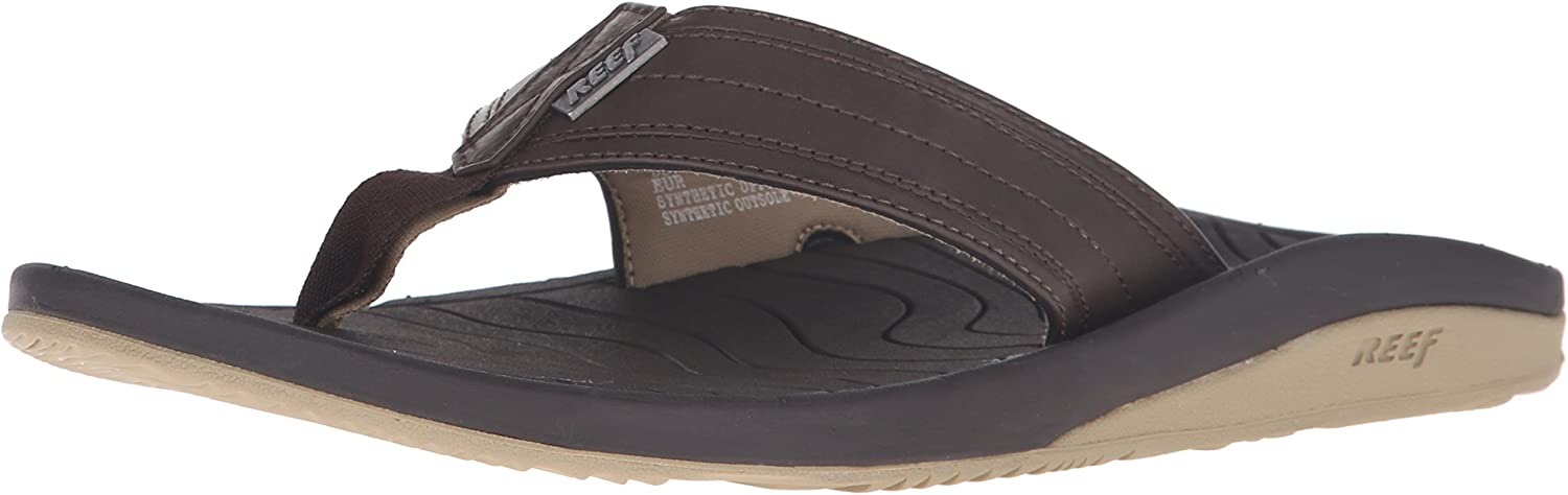 Reef Men's Swellular Cushion Lux Flip Flops