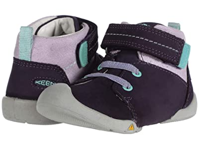 Keen Kids Pep Mid (Toddler) (Purple Plumeria/Sweet Lavender) Girl