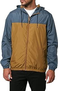 O'NEILL Men's Light Weight Rain Windbreaker Jacket