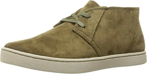 Hush Puppies mujeres Cille Gwen Dk Olive Suede