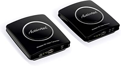 Actiontec Wireless HD Transmitter & Receiver Extender Kit, Full HD 1080P to Stream Video from Cable Box, Blu-Ray, DVR, PS4...