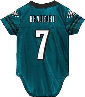 Outerstuff Sam Bradford NFL Philadelphia Eagles Teal Green Home Infant Newborn Jersey