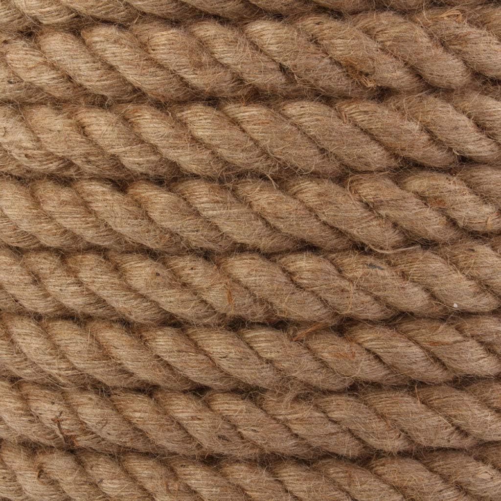 30mm 5-10m Corde di Juta Cordicella di Canapa Naturale Cordicella Country Rustico Accessori Fatti a Mano Fai da Te Nordic Home Decor Cat Pet Scratching Corda di Sicurezza RKY Corda di Canapa 26mm