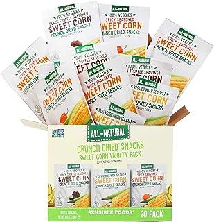 20-Pack Corn Variety Box (8 Sweet Corn w/Sea Salt, 6 Sweet Corn w/Black Truffle Seasoning, 6 Sweet Corn w/Spicy Seasoning)