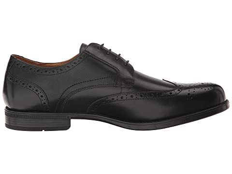 Black Smooth SmoothCognac Oxford Midtown Wingtip Florsheim 7SOWqtnS8