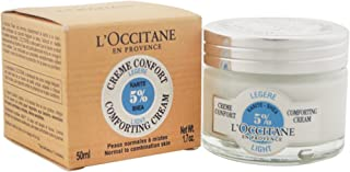 Loccitane Shea Butter Light Comforting Cream for Unisex, 1.7 oz, 51 milliliters