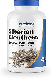 Sponsored Ad - Nutricost Siberian Eleuthero 500mg, 240 Capsules - Eleutherococcus Senticosus - Gluten Free & Non-GMO