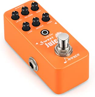 Donner Sweet Juice Mini Electric Guitar Preamp Effect Pedal