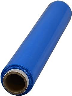 Beste-Folie Stretchfolie 23my 500mmx120m - 1,5 Kg Palettenfolie Handfolie Wickelfolie blau