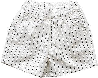 L.COPECK エルコペック 女の子 ショートパンツ ピンストライプ ツイルパンツ キッズ ツイル パンツ 子供服