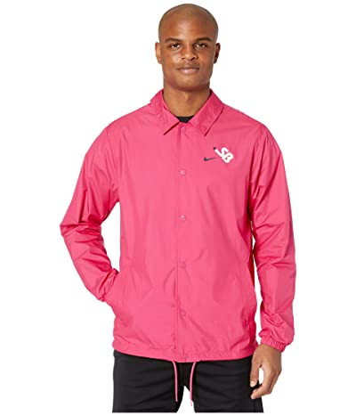 Nike SB Coaches Jacket (Watermelon/Watermelon/White) Men