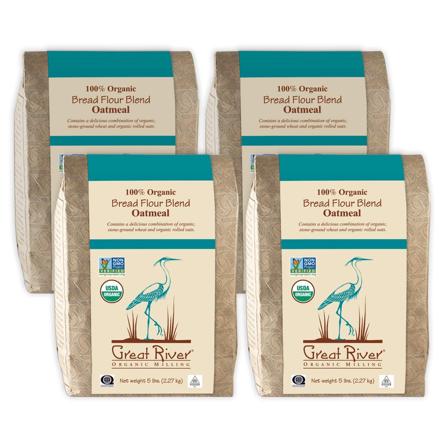 Great Popular brand in the world River Organic Surprise price Milling Bread S Flour Oatmeal Blend