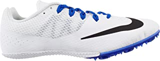 Zoom Rival Womens Track Spike Shoes (6 M US, White/Black/Racer Blue)