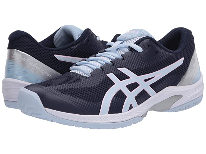 ASICS  Court Speed FF (Peacoat/Soft Sky) Womens Tennis Shoes
