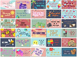 Lunch Box Notes Love Notes for Him and Her 60 Pack- Motivational and Inspirational Notes for Beloved Ones to Bring Joy and...