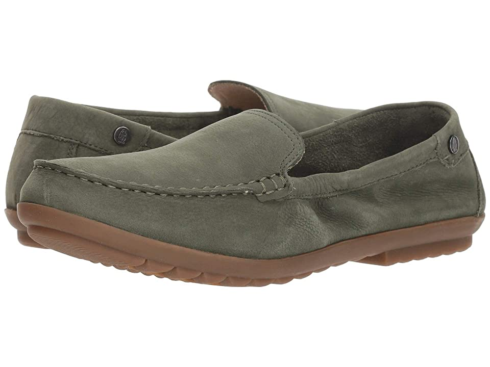 Hush Puppies Aidi Mocc Slip-On (Dark Olive Nubuck) Women