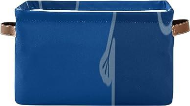 ALALAL Organisation rectangulaire et bacs de Rangement Blue Elephant Long Nose Box Organisateur de Cube de Rangement avec ...