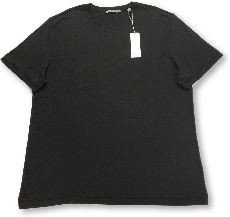 Vince T-Shirt in Dark Khaki Size XXL Cotton