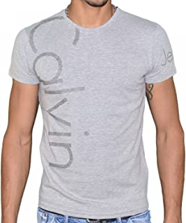 Calvin Klein T-Shirt For Men, Grey