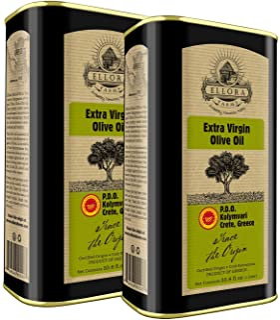 Ellora Farms, 2020 Global Award Winner, Single Origin & Estate Traceable Extra Virgin Olive Oil, First-Cold Pressed, Certi...