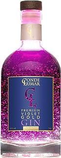 Gin Violet con Oro 23k - Premium Liqueur - Moras y Frutos
