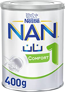 Nestle NAN COMFORT 1, From birth to 6 months, Starter Infant Formula for Colic, Gas, and Constipation, Fortified with Iro...